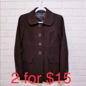 GAP Short front pockets fall light jacket Coat